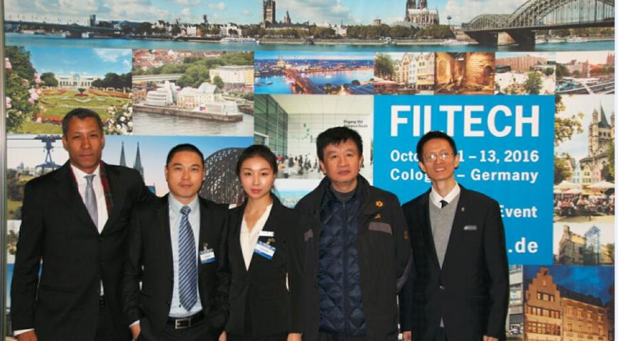Filmedia in FILTECH 2016–The Largest Filtration Show World-Wide